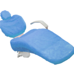 Husa scaun albastra